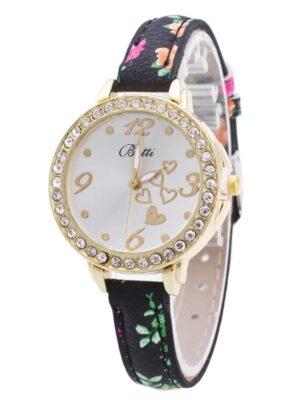 Rosegal Fashion Artificial Diamond Heart Women Watch