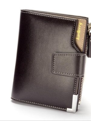 Dresslily Wallet Men Leather Wallets