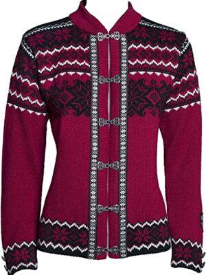 Norlender Norwegian 100% Wool Voss Cardigan Sweater