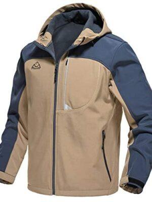 Rdruko Men's Outdoor Softshell Jacket