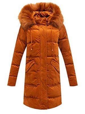 Bellivera Puffer Jacket Women,Lightweight Padding Bubble Hooded Coat