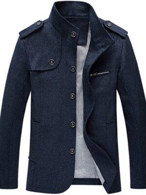 Lavnis Men's Cotton Blend Jacket