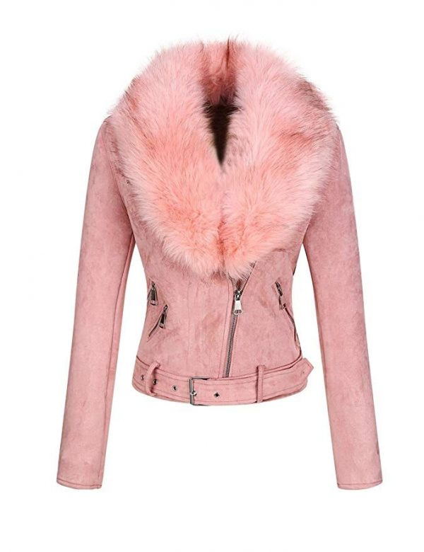 Bellivera Women's Faux Suede Jacket