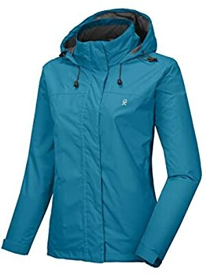 Little Donkey Andy Women's Waterproof Rain Jacket