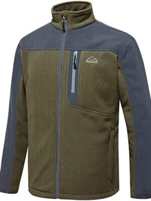 TBMPOY Men's Full-Zip Fleece Jacket