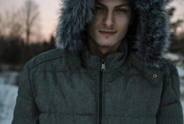 mens bomber jackets with fur collar