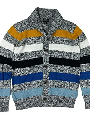 Boys Shawl Collar Cardigan Sweater