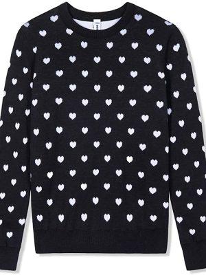 BOBOYOYO Girls's Sweater Long Sleeve