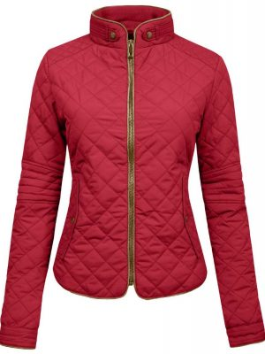 Womens Lightweight Quilted Zip Jacket