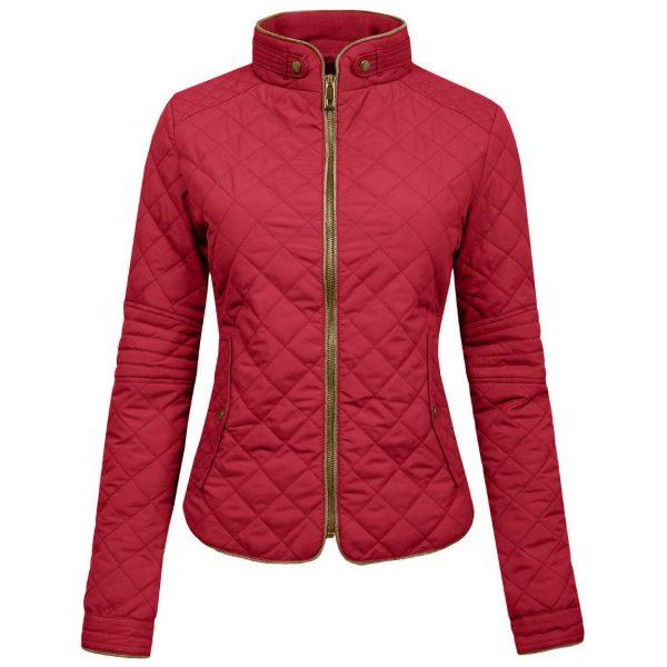 Womens Lightweight Quilted Zip Jacket